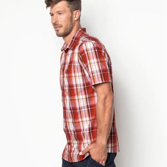 Całkiem nowy później piękno NWT Jack Wolfskin M men vibrant short sleeve NWT